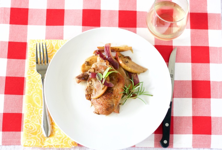 Quick Pork Chops with Apples and Sage Cream Sauce     .jpg