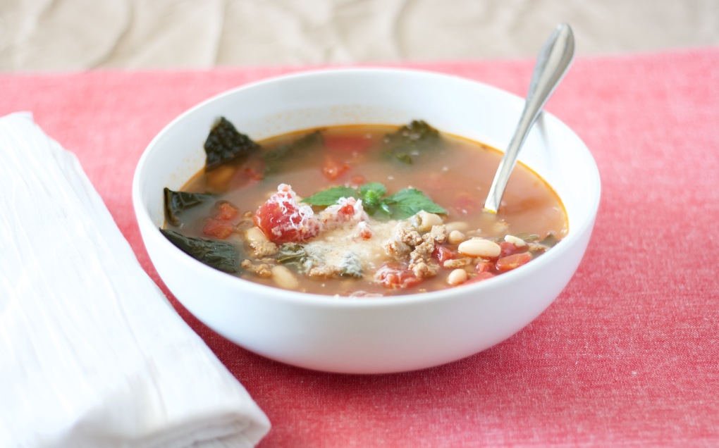 turkey-sausage-kale-and-white-bean-soup