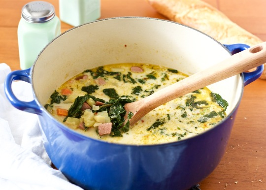 creamy-kielbasa-kale-and-potato-soup