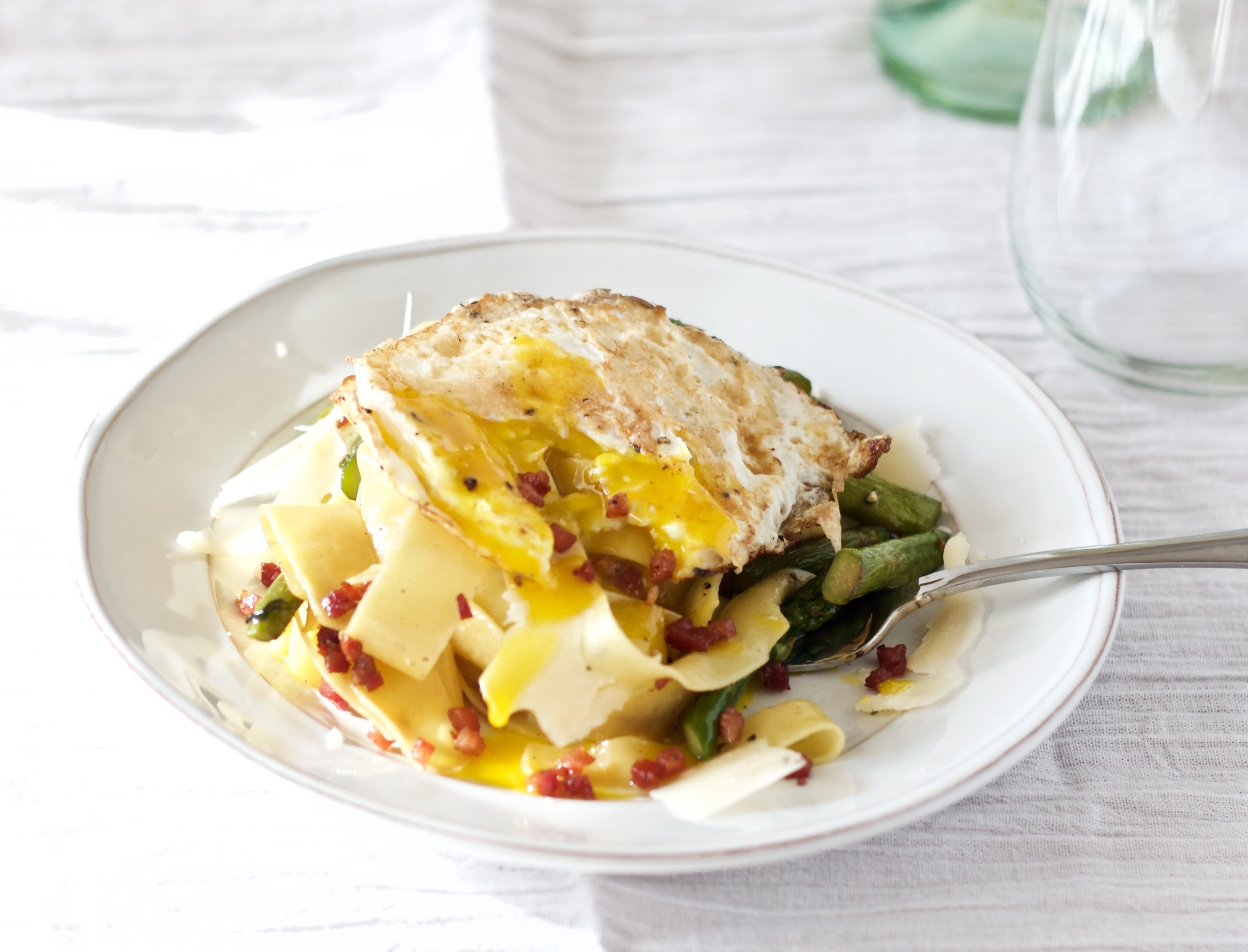 truffle-papardelle-with-pancetta-and-asparagus