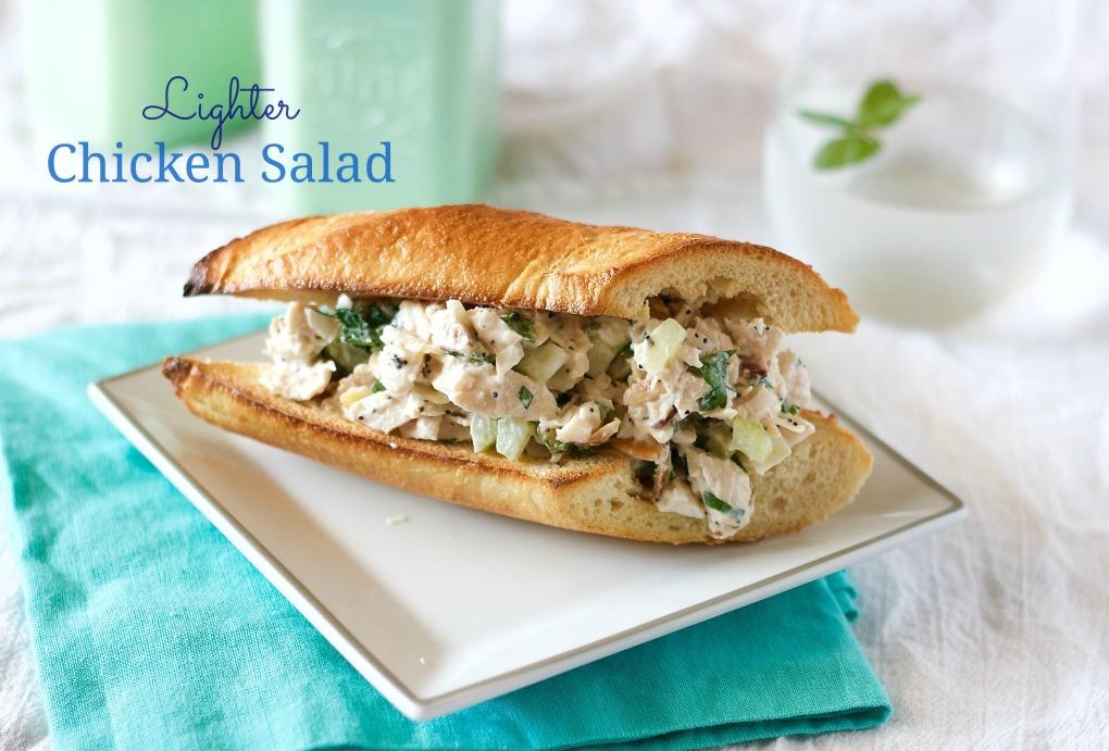 Lighter Chicken Salad
